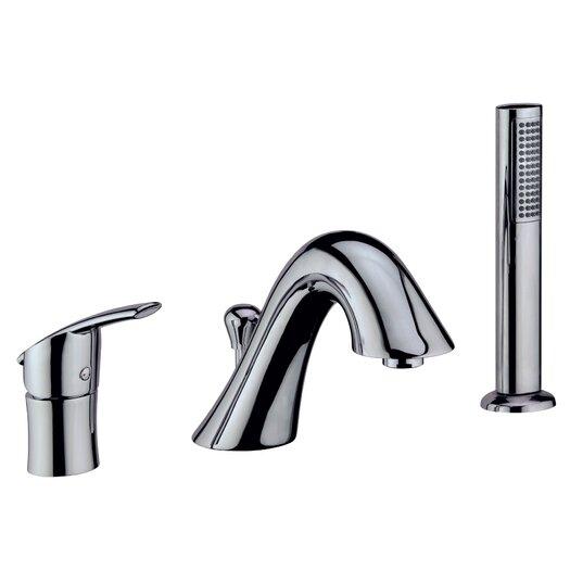 Artos Vienna Single Handle Deck Mount Roman Tub Faucet Trim