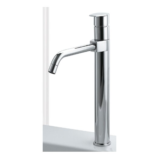 Whitehaus Collection Gyro One Handle Single Hole Kitchen Faucet with Dual Long Spout
