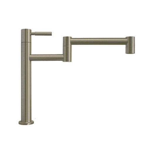 Whitehaus Collection Decohaus Deck Mount One Handle Single Hole Deck Mount Pot Filler Faucet
