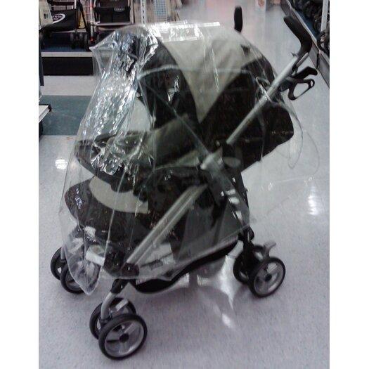 Sasha's Kiddie Products Large Single Stroller Rain and Wind Cover