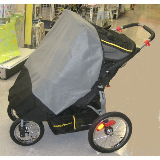 Sasha's Kiddie Products Baby Trend Navigator Double Swivel Wheel Jogger Sun, Wind and Insect Cover