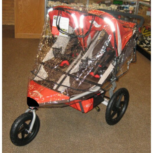 Sasha's Kiddie Products B.O.B Revolution SE 2011 / Stroller Strides Fitness Duallie Stroller Rain and Wind