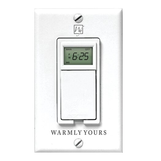 WarmlyYours Timer for Radiant Floor Heating Systems