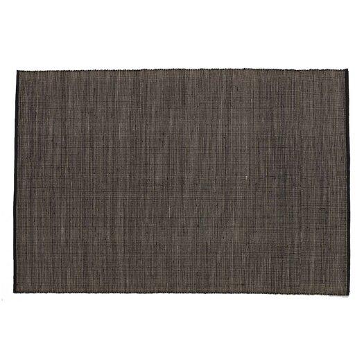 Tatami Black Area Rug