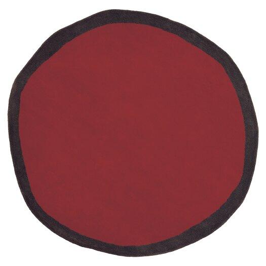 Nanimarquina Aros Redonda Red Area Rug