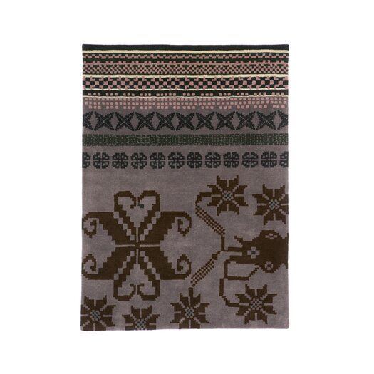 Nanimarquina Folk Purple Area Rug