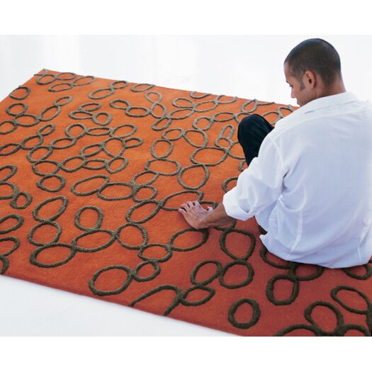 Nanimarquina Ovo Orange Area Rug