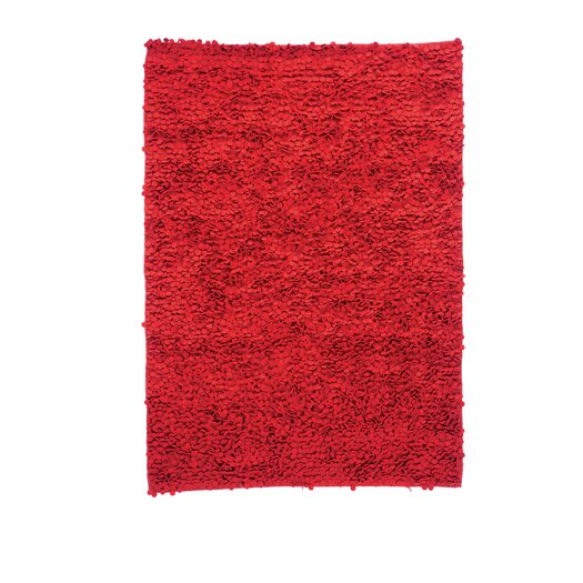 Roses Red Area Rug