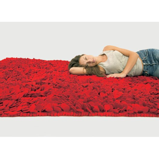 Nanimarquina Roses Red Area Rug