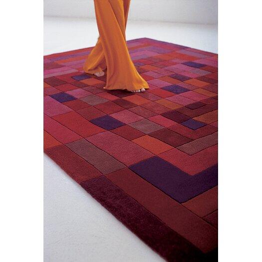Nanimarquina Sybilla Mosaico Red Area Rug