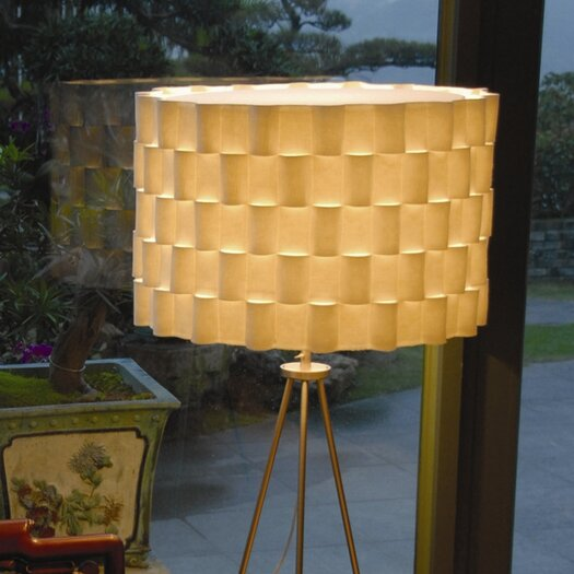 """Innermost 17"""" Loop Synthetic / Natural Felt Drum Lamp Shade"""