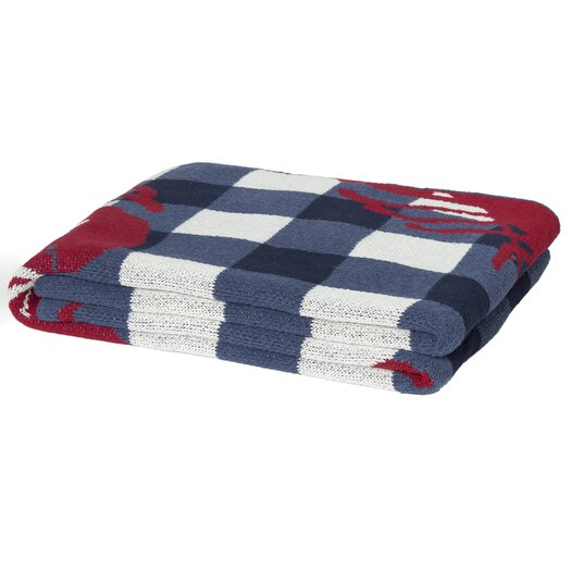 In2Green Eco Designer Lobster Picnic Throw Blanket