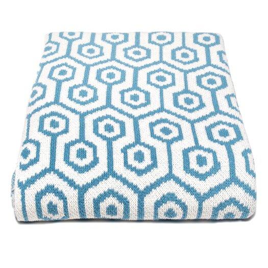 In2Green Eco Geo Cotton Throw Blanket