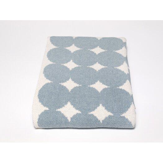In2Green Eco Big Dots Cotton Yarn Throw