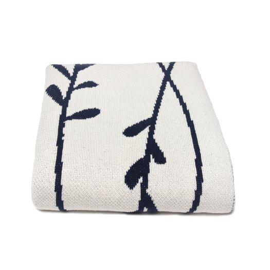 In2Green Eco Vine Cotton Throw Blanket