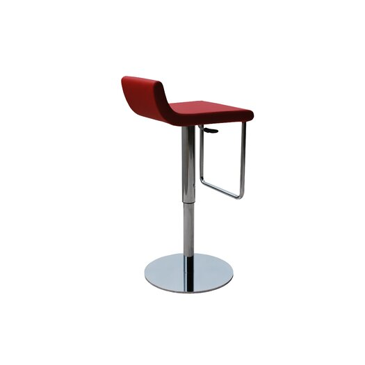Dublin Piston Adjustable Height Swivel Bar Stool
