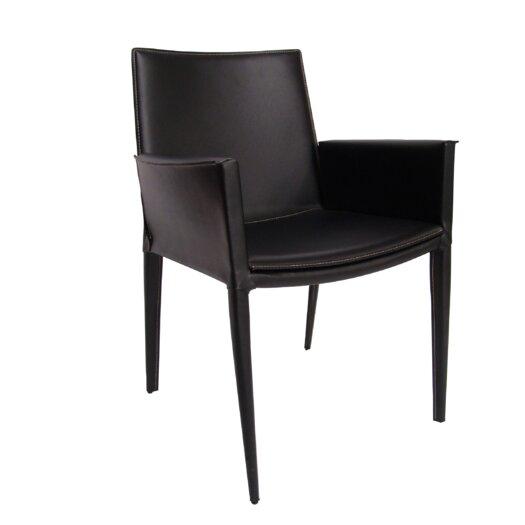 sohoConcept Tiffany Leather Arm Chair