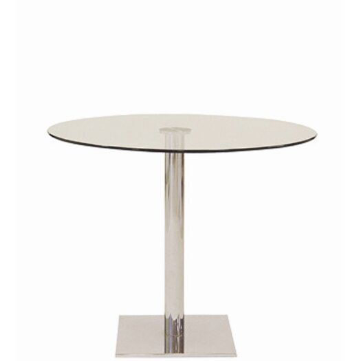 Lady Square Base Dining Table