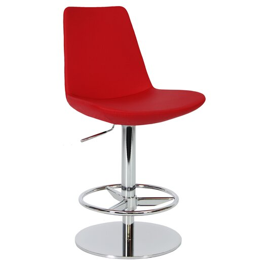 sohoConcept Eiffel Piston Adjustable Height Bar Stool