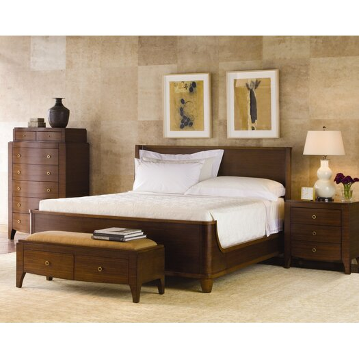 Brownstone Furniture Mercer Parawood Bedroom Bench