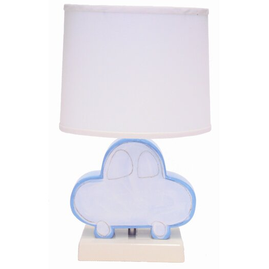 Alex Marshall Studios Figure Table Lamp with Drum Shade