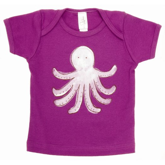 Alex Marshall Studios Octopus Lap T Shirt in Purple