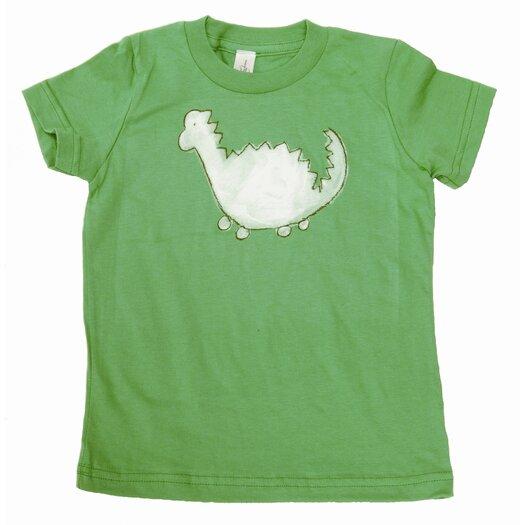 Dinosaur T Shirt in Green