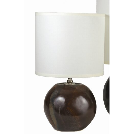 Alex Marshall Studios Sphere Table Lamp with Drum Shade