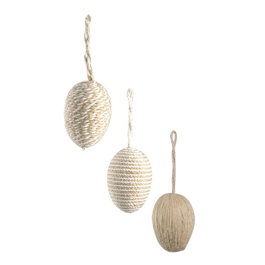 Barreveld International Egg 3 Piece Ornament Set