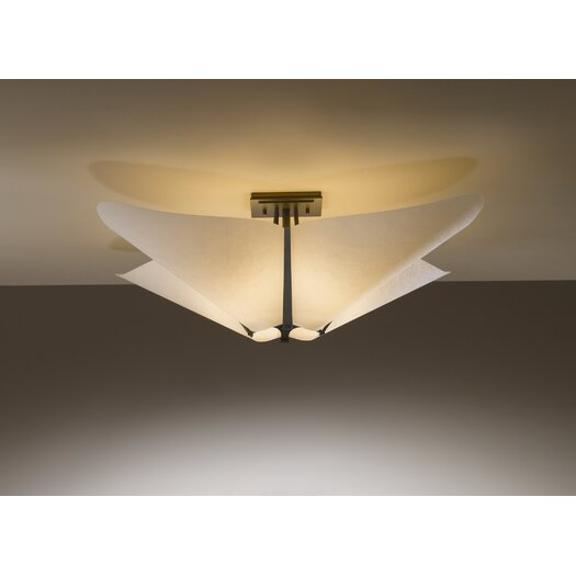 Hubbardton Forge Kirigami 4 Light Semi Flush Mount