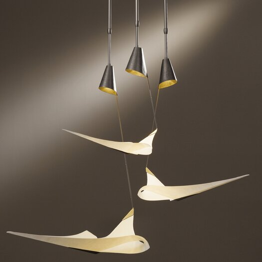 Hubbardton Forge Icarus 3 Light Pendant
