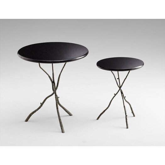 Cyan Design Large Gaston Table in Raw Steel