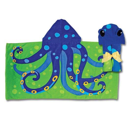 Stephen Joseph Octopus Hooded Towel