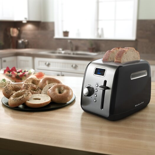 KitchenAid 2-Slice Toaster with LCD Display