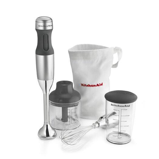 KitchenAid 3 Speed Immersion Blender Set