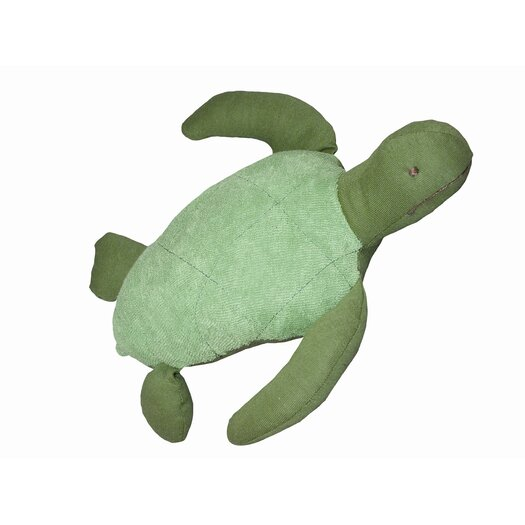 Under the Nile Endangered Species Sea Turtle Toy in Green