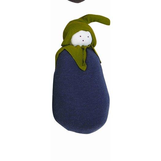 Under the Nile Veggies Eggplant Plush Toy