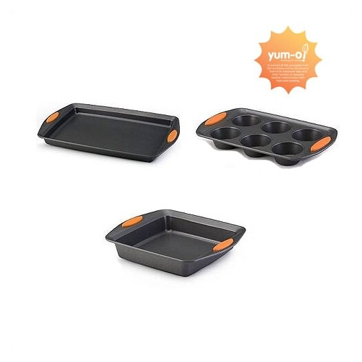Rachael Ray Yum-O! Oven Lovin' 3-Piece Bakeware Set