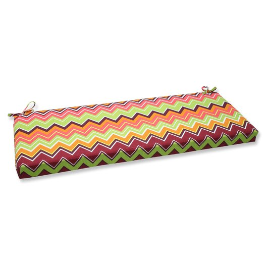 Pillow Perfect Zig Zag Bench Cushion