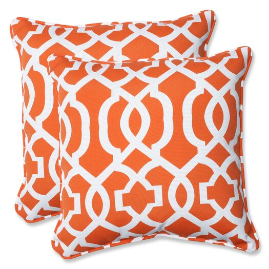 Pillow Perfect New Geo Throw Pillow