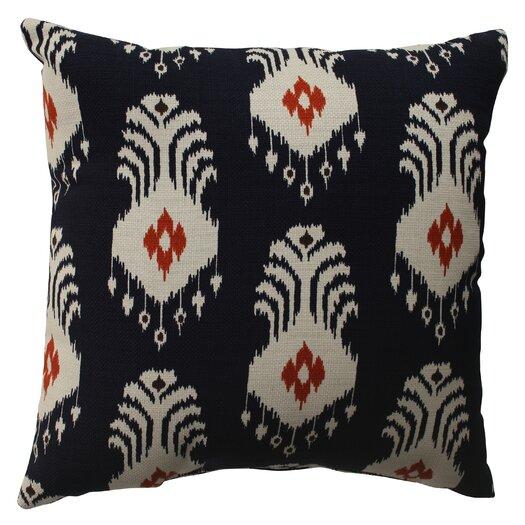 Pillow Perfect Ikat Cotton Pillow