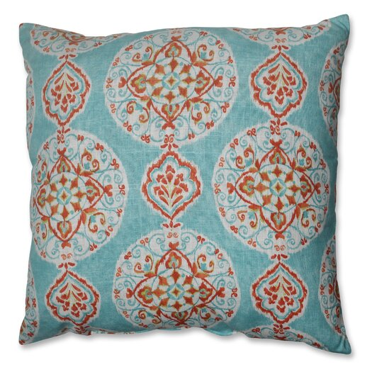 Pillow Perfect Mirage Medallion Polyester Floor Pillow