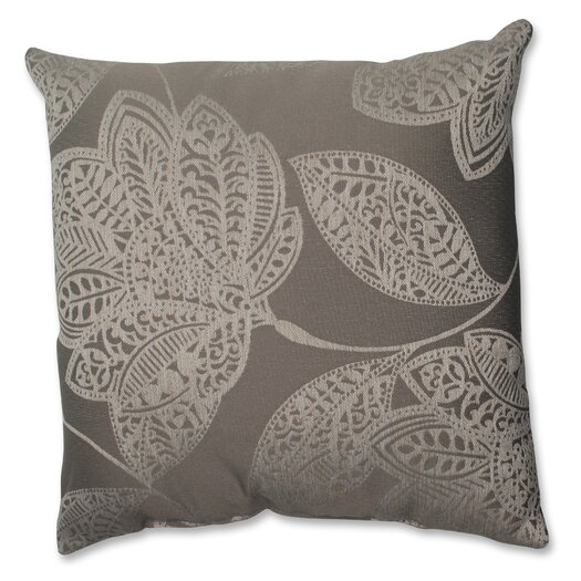 Pillow Perfect Beatrice Jute Polyester Throw Pillow