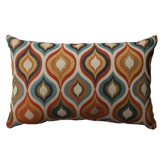 Pillow Perfect Flicker Jewel Polyester Throw Pillow