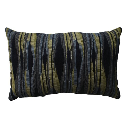Pillow Perfect Kasuri Polyester Throw Pillow