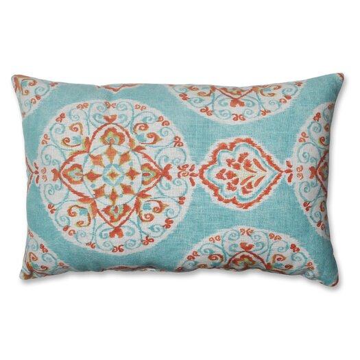 Pillow Perfect Mirage Medallion Polyester Throw Pillow