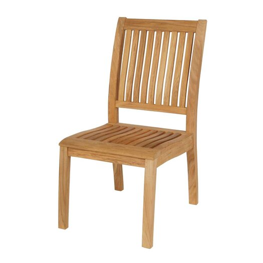 Barlow Tyrie Teak Monaco Dining Side Chair