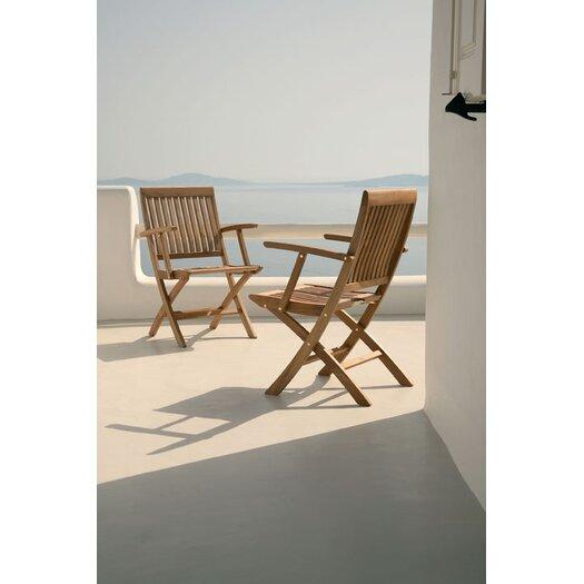 Barlow Tyrie Teak Monaco Carver Folding Chair