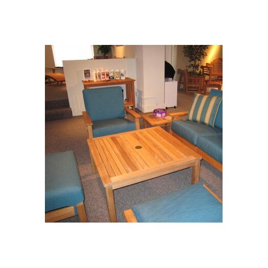 Barlow Tyrie Teak Haven Square Conversational Table