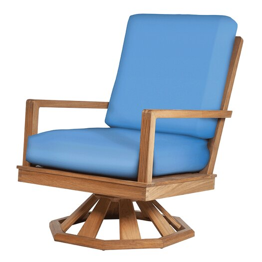 Barlow Tyrie Teak Avon Rocker Chair with Cushions